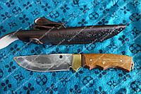 Нож для охоты  таежный  медведь с гравировкой ,украина