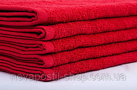 Полотенце Lotus 30х50 см махровое Basic плотность 420 красное