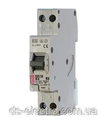 Диффер. автоматический выкл. KZS-1M SUP B 6/0,03 тип A (6kA) (верхн. подключ.)