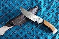 Нож охотничий ручной работы Архар, кожаный чехол в комплекте