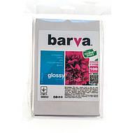Фотобумага Barva, глянцевая, односторонняя, A6 (10x15), 230 г/м2, 100 л (IP-CE230-218)
