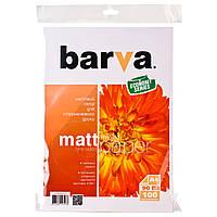 Фотобумага Barva, матовая, односторонняя, A4, 90 г/м2, 100 л (IP-AE090-131)
