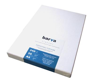 Холст Barva 'Fine Art', матовый, натурально-белый, для репродукций, A4, 340 г/м2, 50 л (IC-XA10-102) - Sale365 в Николаеве