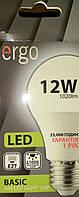 LED лампа Ergo A60 Basic12W E27 4100K 220V