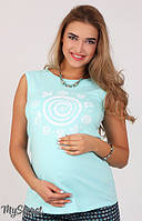 Майка для беременных Armina spiral ментол