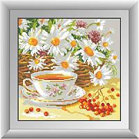 Алмазная мозаика квадратными камнями «Полуденный чай» Dream Art 30277 (29 х 29 см) на холсте