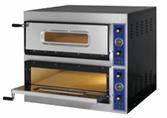 Печь для пиццы GGF ES 4+4 (Ø660мм)