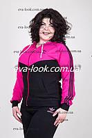 Модный женский спортивный костюм батального размера.
