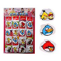 Ластик детский фигурный Angry Birds 4-5 см.