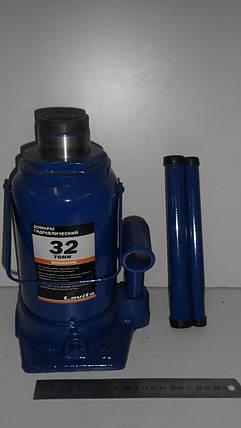 Домкрат бутылочный гидравлический Lavita 32,0 т, фото 2