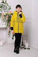 Весенняя удлиненная стильная куртка