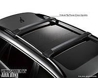 Поперечины на рейлинги   Land Rover Freelander II  2007-    черные