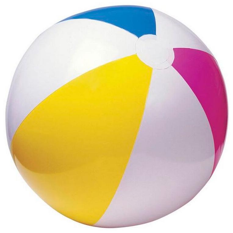 """Мяч """"Цветные Полоски"""" Intex 59030"""