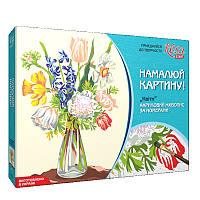 """Набор, акриловая живопись по номерам """"Цветы"""", ROSA START, 0001332"""