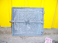 Дверь топочная(ШП-03)зажим(33*36)(27*29)чугун