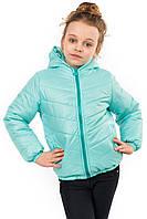 """Детская куртка """"Ушки"""" однотонная"""