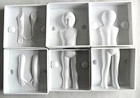 """Молд пластиковый 3D """"Тело ребенка""""  15 см"""