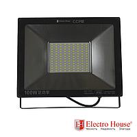 LED прожектор 100W IP65 ElectroHouse
