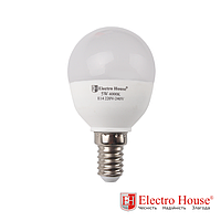 Лампа светодиодная круглой формы E14 5W
