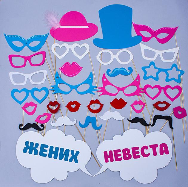 """Фотобутафория для свадебной фотосессии, BF-62 -  Магазин  """"AmourShop"""" (Амуршоп) в Киеве"""