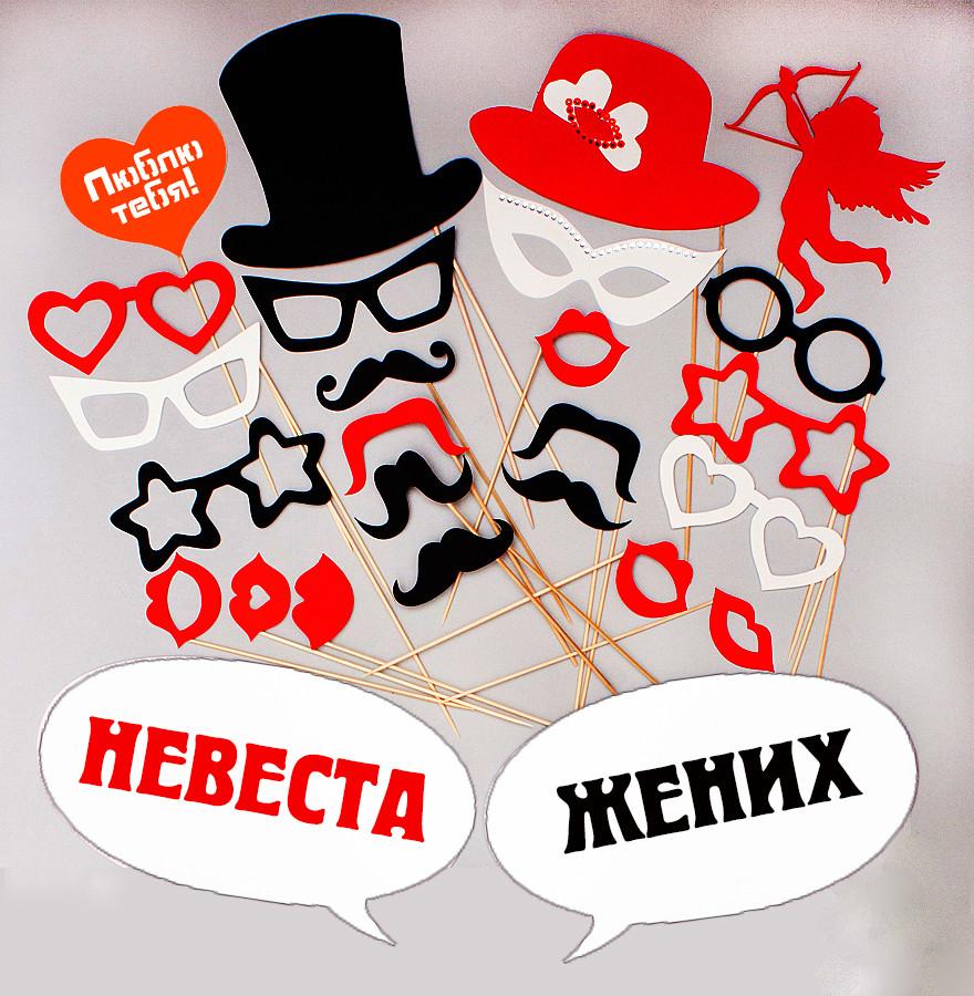 """Фотобутафория для свадебной фотосессии, BF-65 -  Магазин  """"AmourShop"""" (Амуршоп) в Киеве"""