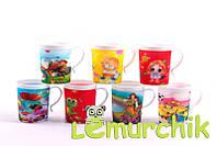 Чашка детская облегченная противоударная с 3d рисунком 200 мл Lindo