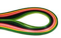 """Набор для квиллинга """"Вишневый цвет"""", № 42, 8 цветов, 0,5 см, 50 см, 130 г/м2, ROSA Talent, 94091242"""
