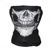 Бафф-маска с рисунком черепа и кинжалом