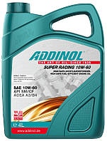 ADDINOL SUPER RACING 10W-60 4л канистра