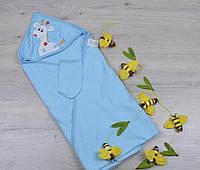 Уголок полотенце Жирафик набор для купания для новорожденных