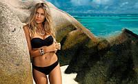 Однотонный пляжный женский купальник Etna N2-23