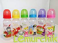 Бутылочка для кормления с силиконовой соской 250 мл Lindo