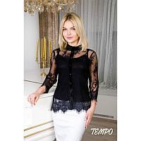 Блуза Хлоя черный