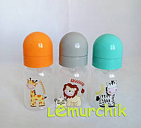 Бутылочка для кормления с силиконовой соской 125 мл Lindo