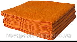 Полотенце Lotus 30х50 см махровое Basic плотность 420 оранжевое