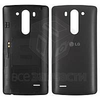 Задняя крышка батареи для мобильных телефонов LG G3s D724, черная