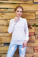 Молочная женская блуза Феерия Arizzo 44-52 размеры