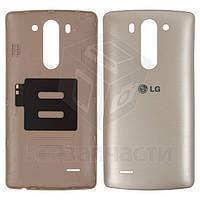 Задняя крышка батареи для мобильных телефонов LG G3s D724, золотистая