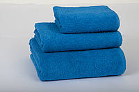 Полотенце Lotus 30х50 см махровое Basic плотность 420 синее
