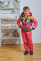 Детский демисезонный костюм из плащевки