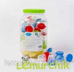 Соска силиконовая для бутылочек (0, 3, 6, 12 месяцев)