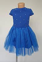 Платье для девочек с жемчугом