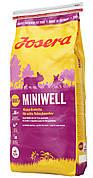 Корм Josera йозера Miniwell 15 кг для взрослых собак мелких пород