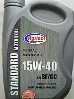 Минеральное моторное масло Agrinol Агринол 15w40 (1 литр)