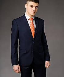 Мужской костюм West-Fashion модель А-75 темно-синий