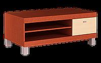 Тумбочка под телевизор или аудио аппаратуру, на 6-ти ножках, оригинальная, размером 46х60х110 ТОП РТБ малая