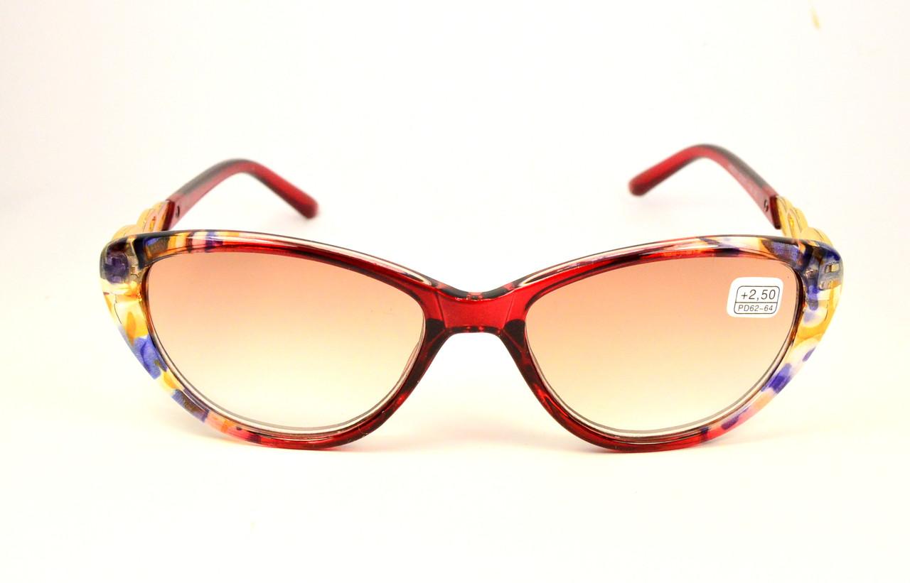 Женские тонированные очки (211 тон б)