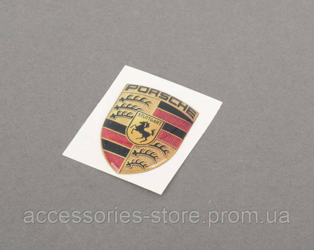 Наклейка герб Porsche Crest 3D Sticker Large