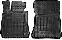 Полиуретановые передние коврики для Mercedes S-Class (W221) (4 matic long) 1995-2012 (AVTO-GUMM)
