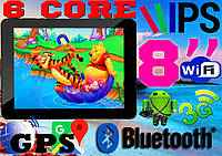 Мощный планшет- телефон GoClever TAB M813G 6 ЯДЕР, 3G, GPS,  IPS (ОРИГИНАЛ)